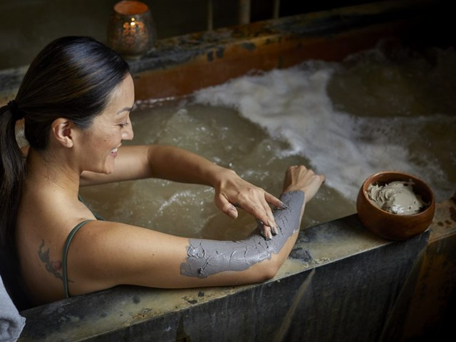 Private Mineral Bathing