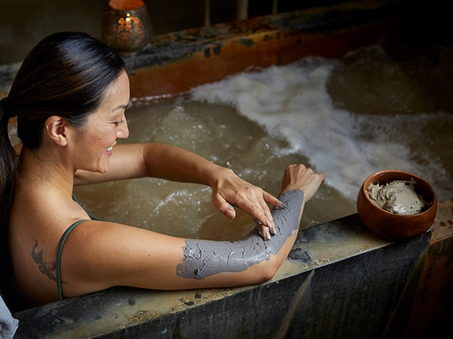 Thermal Mineral Mud Bath